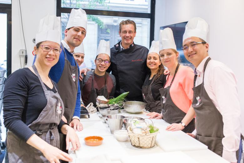French Cooking Class Paris France