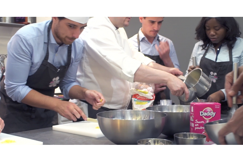cooking courses, professional training, Cour des Créateurs, Paris